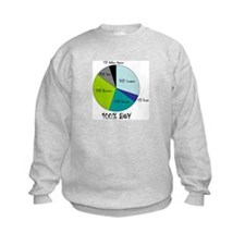 Pie Chart Sweatshirt