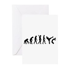 Evolution Capoeira Greeting Cards (Pk of 10)
