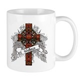 Wallace Tartan Cross Mug