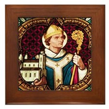 St Peter Framed Tile