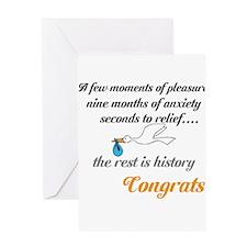 Baby Congrats design Greeting Card