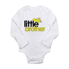 little brother t-shirt dinosaur Body Suit