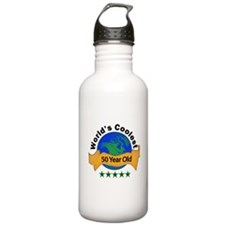 Funny Over the hill Water Bottle