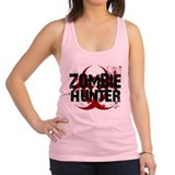 zombie hunter Racerback Tank Top
