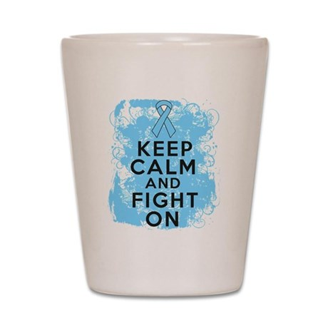Addisons Disease Keep Calm Fight On Shot Glass