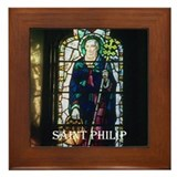 St Philip Framed Tile