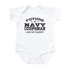 Future Navy Corpsman Infant Bodysuit