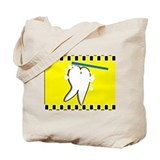 tooth blanket 4 yellow.PNG Tote Bag
