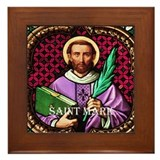 St Mark Framed Tile