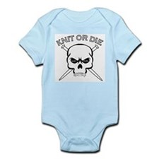 Knit or Die Infant Creeper
