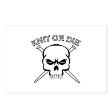 Knit or Die Postcards (Package of 8)