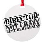 director.png Round Ornament