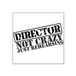 director.png Square Sticker 3
