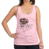 writer2.png Racerback Tank Top