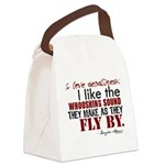 3-t-shirt-writing3.png Canvas Lunch Bag