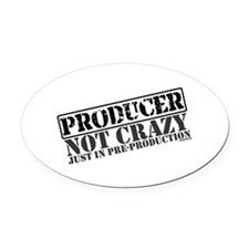producer.png Oval Car Magnet