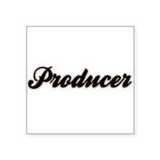 "producer1.png Square Sticker 3"" x 3"""