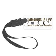 3-t-shirt-filmmaking-black.png Luggage Tag