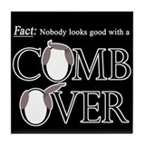 Combover Facts - Tile Coaster