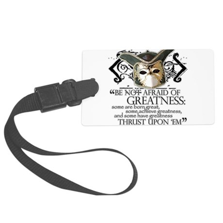 Twelfth Night 2 Large Luggage Tag