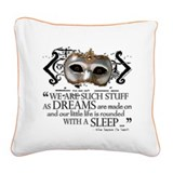 The Tempest Square Canvas Pillow