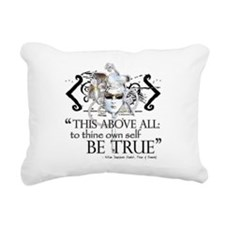 hamlet3.png Rectangular Canvas Pillow