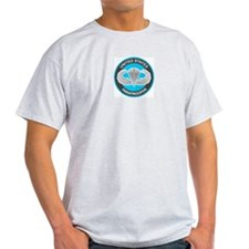 US Paratrooper/Master Jump Wings Ash Grey T-Shirt