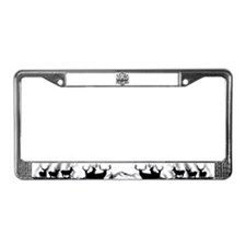 It's how I role License Plate Frame