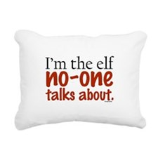 notalkelf.png Rectangular Canvas Pillow