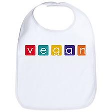 Vegan Blocks Bib