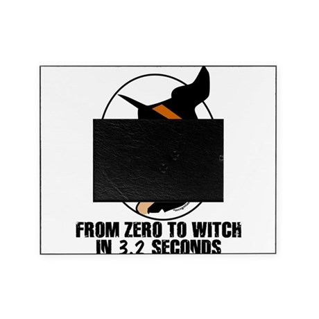 Zero to Witch Picture Frame