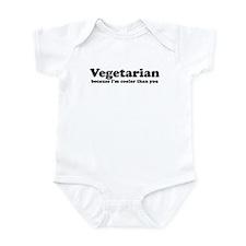 Vegetarian Cooler Infant Bodysuit