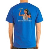 luau Girl dark color T-Shirt