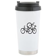Bike Love Ceramic Travel Mug