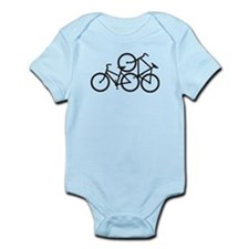 Bike Love Infant Bodysuit