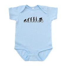 Evolution cycling bike Infant Bodysuit