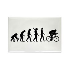 Evolution cycling bike Rectangle Magnet (100 pack)