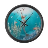 Little Mermaid 1 Large Wall Clock