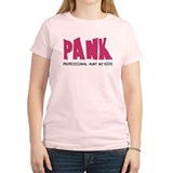 PANK Professional Aunt No Kids T-Shirt