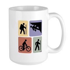 Multi Sport Guys: Large Mug