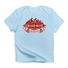 Crested Butte Mountain Emblem Infant T-Shirt