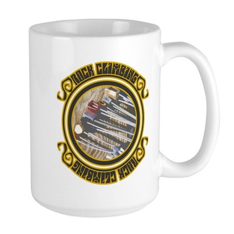 Rock Climbing Nuts: Large Mug