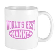 World's Best Nanny Mug