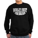 World's Best Pop Pop Sweatshirt (dark)