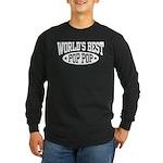 World's Best Pop Pop Long Sleeve Dark T-Shirt