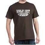 World's Best Pop Pop Dark T-Shirt