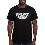 World's Best Pop Pop Men's Fitted T-Shirt (dark)
