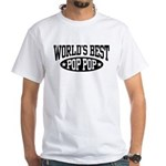 World's Best Pop Pop White T-Shirt