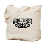 World's Best Pop Pop Tote Bag