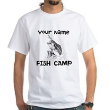 Personlize Fish Camp Shirt